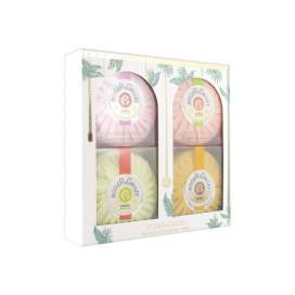 Roger & Gallet Pack 4 Jabones (Fleur Figuier + Osmanthus + Gingembre Rouge + B.Orange)