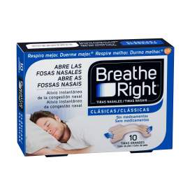 Rhinomer By Breathe Right Tira Nasal Clasicas 10 U
