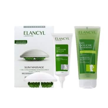 Elancyl Activ Masaje Gel 200ml + Guante + Gel Exfoliante 150ml