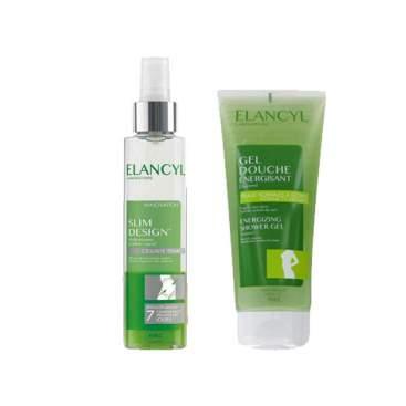 Elancyl Slim Design Aceite Anticelulitico Antinodulos 150Ml + Exfoliante 300Ml