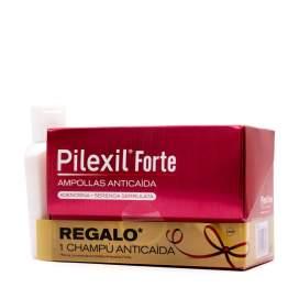 Pilexil Forte 15 Ampollas+Champu Regalo