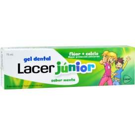 Lacer Junior Gel Dental 75 Ml Menta