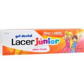 Lacer Junior Gel Dental 75Ml Fresa BR