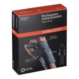 Farmalastic Muñequera Metacarpiana Neopreno T- Unica