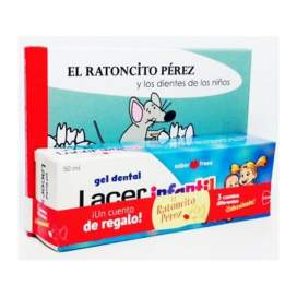 Lacer Gel Dental Infantil 2-6 Fresa+Cuento