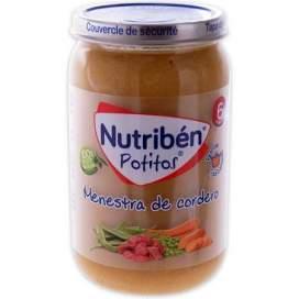 Nutriben Recetas Tradicionales Menestra De Cordero Potito 235 G