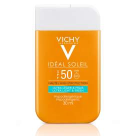 Vichy Ideal Soleil Spf50 Fluido Hidratante Pocket 30Ml
