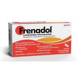 Frenadol 10 Effervescent Tablets