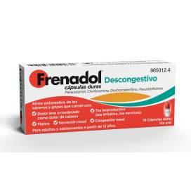 Frenadol Descongestivo 16 Capsules