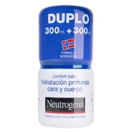Neutrogena Comfort Balm Cara y Cuerpo 2x300Ml
