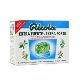 Ricola Caramelos Extra Fuertes Mentol-Menta Suiza 51 G