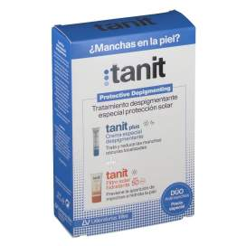 Tanit Plus Despigmentação + Tanit protetor solar 15 Ml + 50 Ml