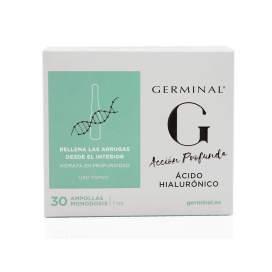 Germinal ação profunda ácido hialurônico 30 blisters