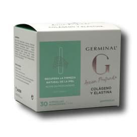 Germinal ação profunda colágeno e elastina 30 blisters