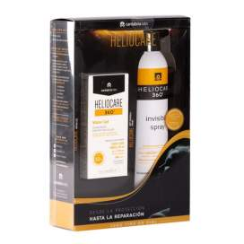 Heliocare 360 Water Gel SPF50+ 50Ml + Spray Invisible 200Ml