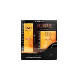 Heliocare 360 Color Gel Oilfree Bronze Intense + Cushion Compact Bronze Intense 15G