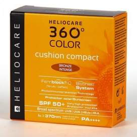 Heliocare 360º Color Cushion Compact Spf 50+ Bronze Intense 15 G