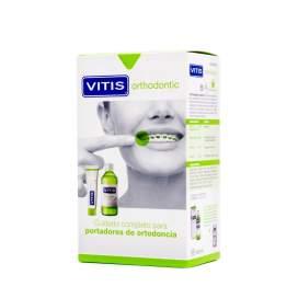 Vitis Orthodontic Pack Pasta Dentifrica 100ml y Colutorio 500ml