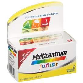 Multicentrum Junior 30 Comprimidos Frambuesa/Limon BR