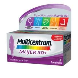 Multicentrum Mujer 50+ 90 Comprimidos