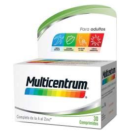 Multicentrum con Luteina 30 Comprimidos BR