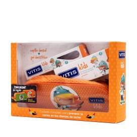 Vitis Kids Gel Dentifrico + Cepillo + Gadget 50Ml