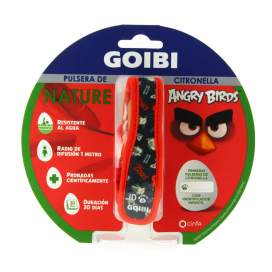 Goibi Pulsera Nature Citronella Angry Birds