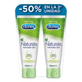Durex Natural Gel Intimo 2x100Ml Duplo