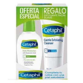 Cetaphil Hidratante Facial Ligera De Día 88Ml + Exfoliante Facial Suave 178Ml
