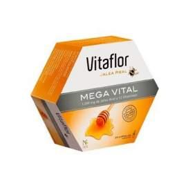 Vitaflor Jalea Real Mega Vital 200 Ml 20 Ampollas