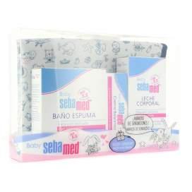 Sebamed Baby Canastilla Cambiador (Baño 200Ml + Crema 50Ml + Leche 200Ml