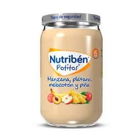 Nutriben Manzana Platano Melocoton Y Piña Potito 235G