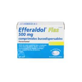 Efferaldol Flas 500 Mg 16 Comprimidos Bucodispersables