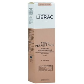 Lierac Teint Perfect Skin 01 Light Beige Beige Claro 30Ml