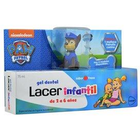 Lacer Infantil Gel Dental 75Ml Fresa Patrulla Canina