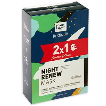Martiderm Night Renew Mask 25Ml X 5 U 2X1