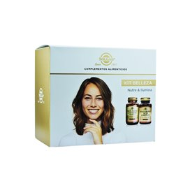 Solgar Pack Belleza (Hair Skin Nails + Hyaluronic Acid Complex)