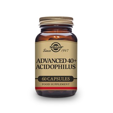 Solgar Advanced 40+ Acidophilus 60 Capsulas Vegetales