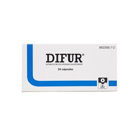 Difur 120 Mg 24 Capsulas