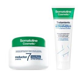 Somatoline 7 Noches Cream 400Ml + Anti-cellulite cream 250Ml