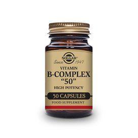 Solgar B-Complex 50 50 Capsulas vegetales