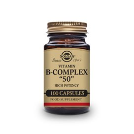 Solgar B-Complex 50 100 Capsulas vegetales
