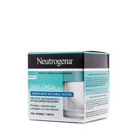 Neutrogena Detox Hidratante Doble Accion 50Ml