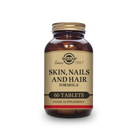 Solgar Skin Nails And Hair 60 Comprimidos