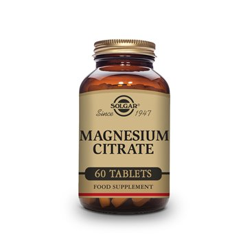 Solgar Magnesium Citrate 60 comprimidos