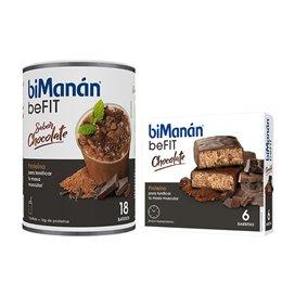 Bimanan Chocolate Shake 540G + Chocolate Bars