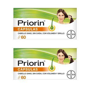 Priorin 2x60 Capsulas Antiqueda Duo