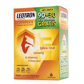 Leotron Complex 90+30 Capsulas