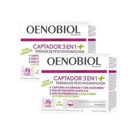 Oenobiol Captador 3 En 1 (+) 2x60 Capsulas Duplo