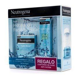 Neutrogena Hydro Boost Gel De Agua 50Ml + Crema Gel Contorno Ojos 15Ml
